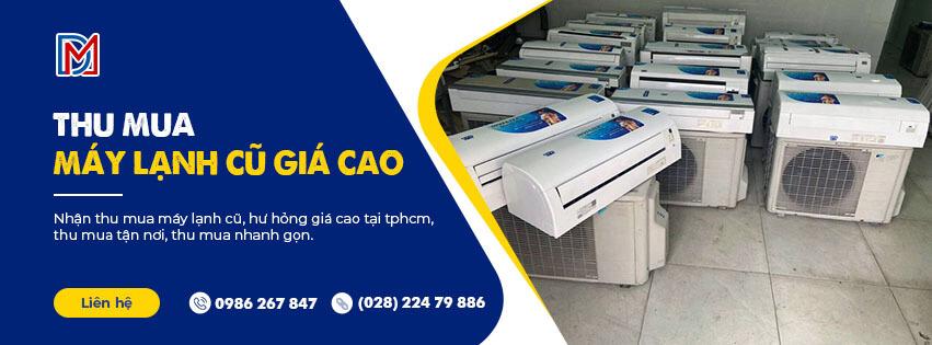 Thu mua máy lạnh cũ giá cao tại TP.HCM